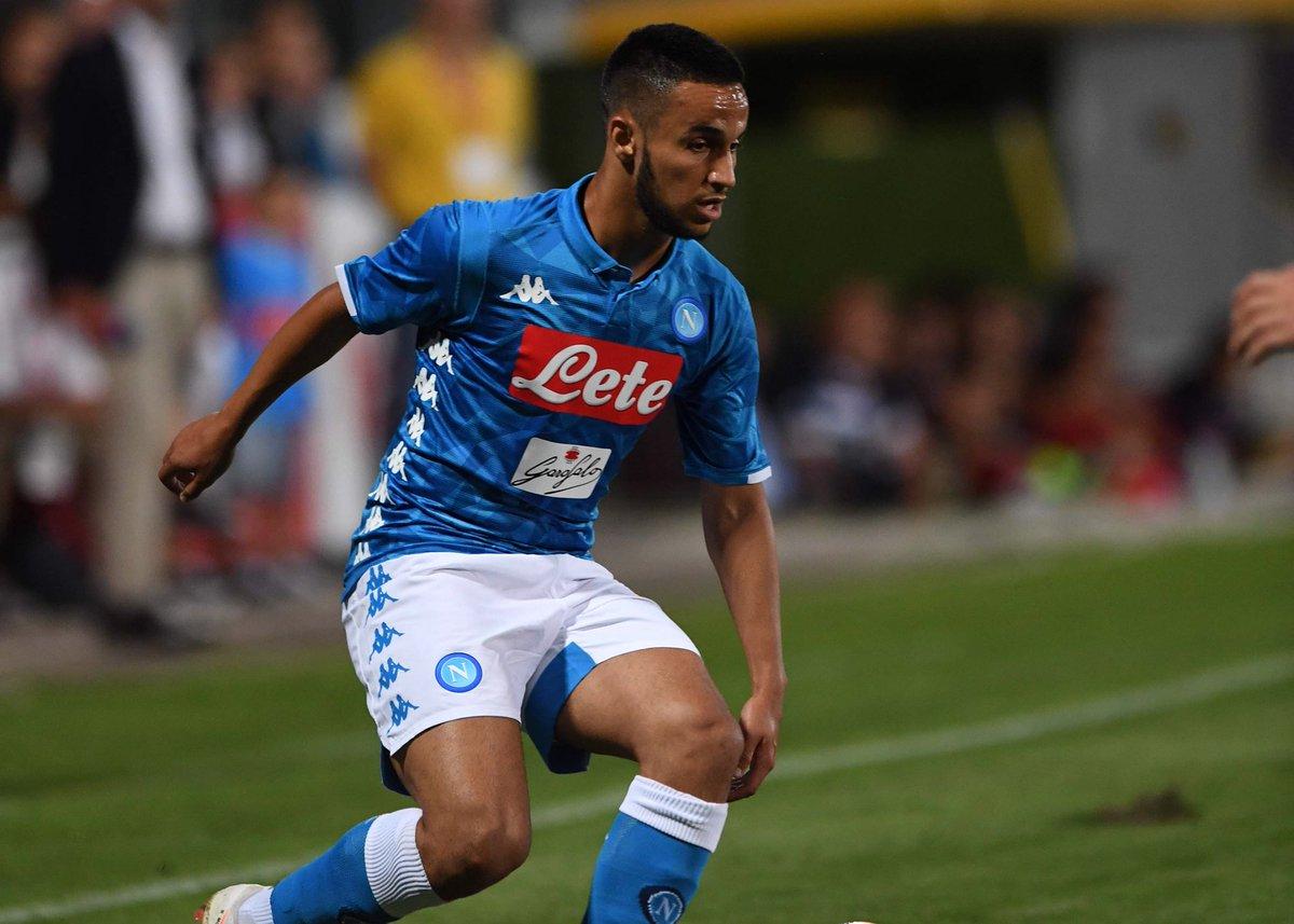 Napoli-Frosinone 2-0, primo tempo: Zielinski e perla di Ounas
