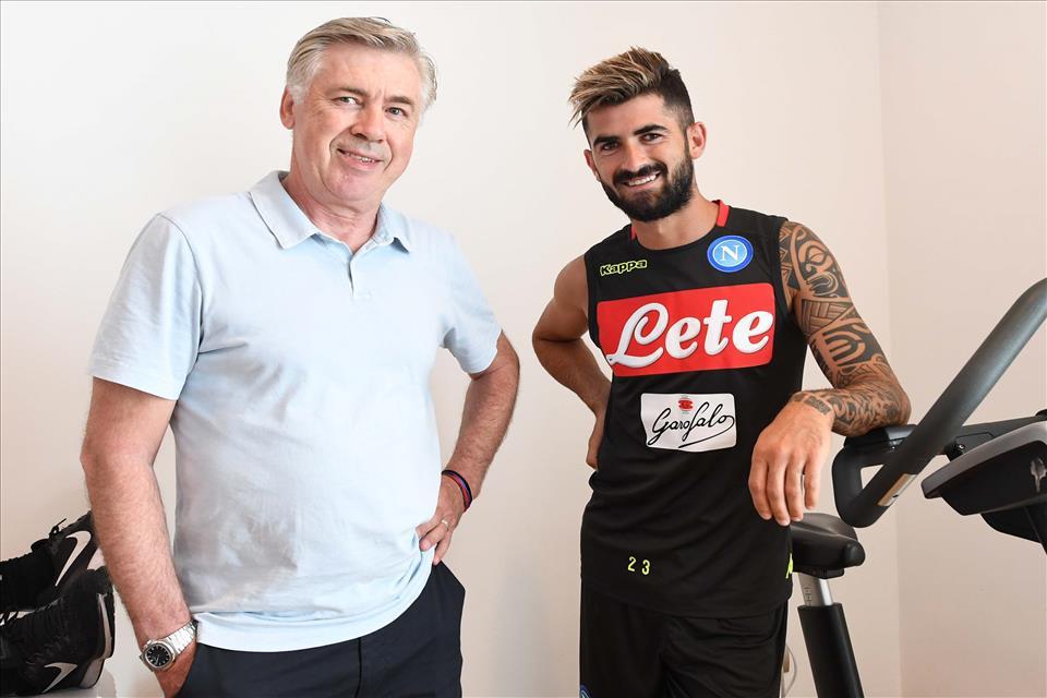 FOTOGALLERY – Il raduno del Napoli di Ancelotti all'Hotel Vesuvio
