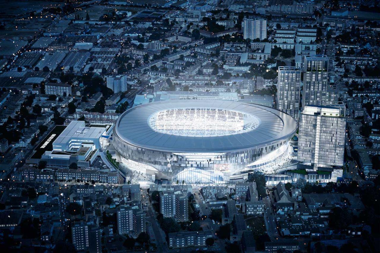 Tottenham, rinviata l'inaugurazione del nuovo stadio