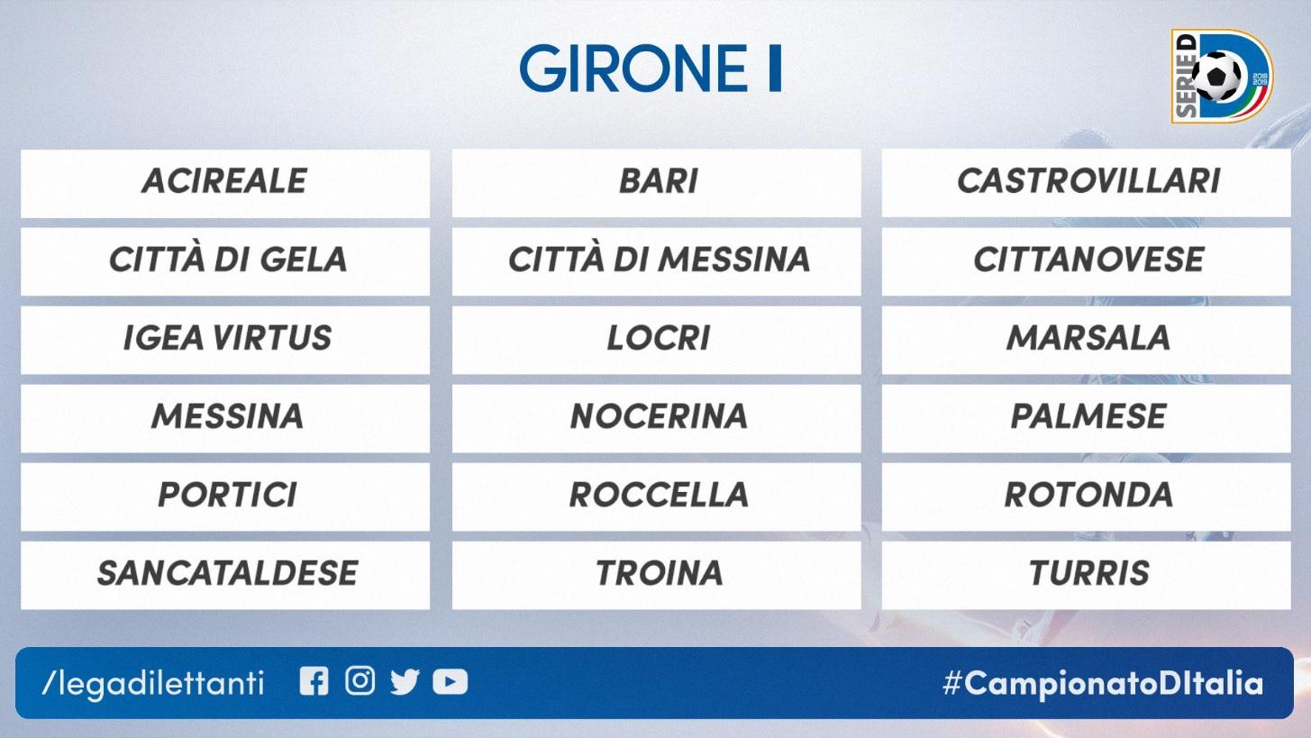 Il Bari di De Laurentiis riparte dalla Serie D, nello stesso girone ci sono Portici, Turris e Nocerina