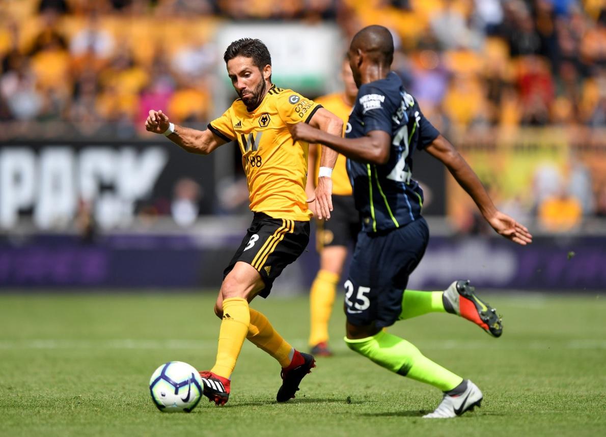 Wolverhampton-Manchester City 1-1, gol di mano di Boly e pareggio di Laporte