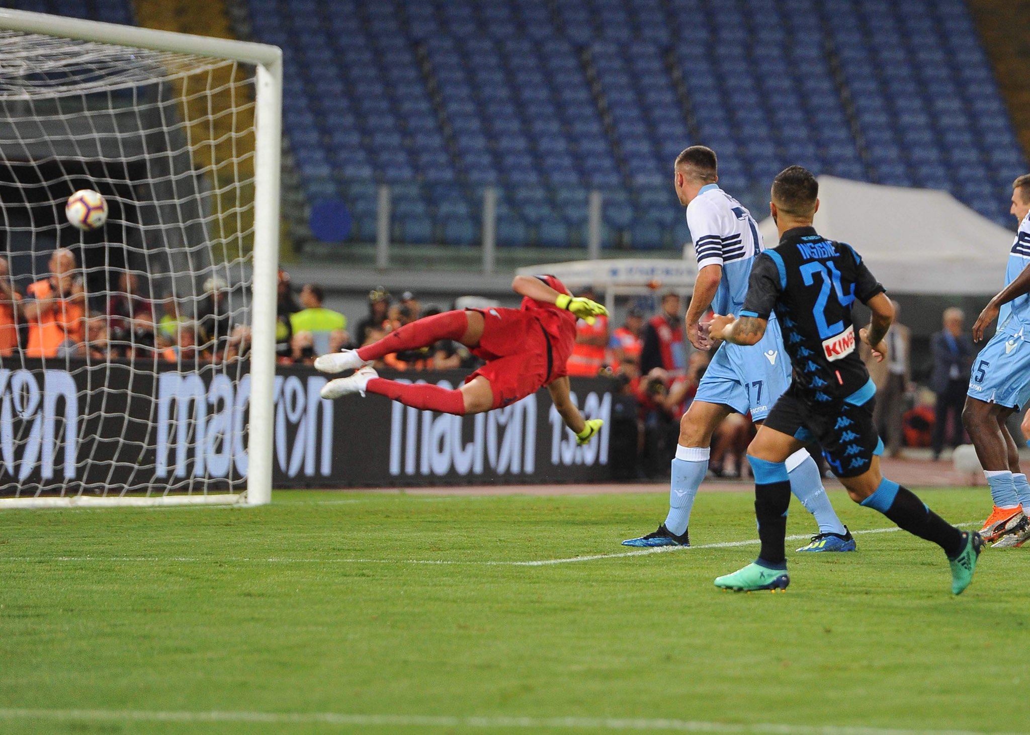 Lazio-Napoli 1-2, vittoria meritata all'esordio: segnano Milik e Insigne