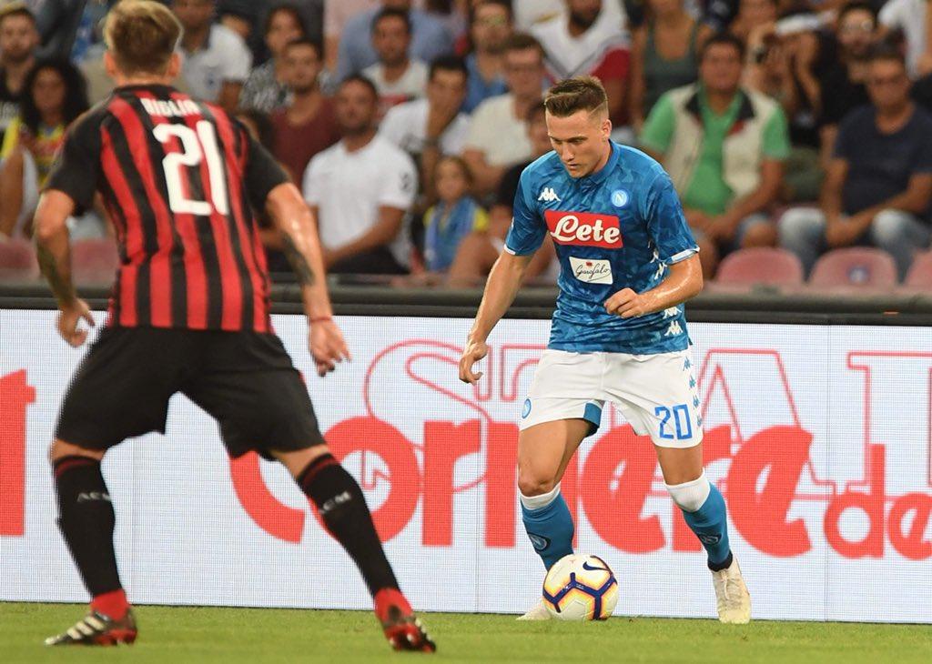 Napoli-Milan 0-1, il primo tempo: Bonaventura punisce Ancelotti in una partita a dama