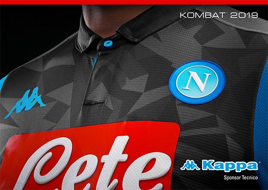 FOTO – La seconda maglia del Napoli 2018/2019: pantera nera e inserti azzurri