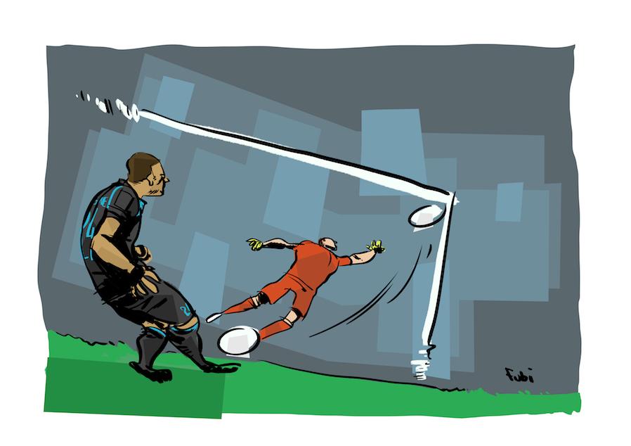 Il gol di Lorenzo Insigne
