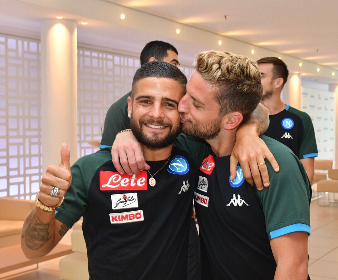 Il Napoli riaccoglie Mertens: «Bentornato Dries!»