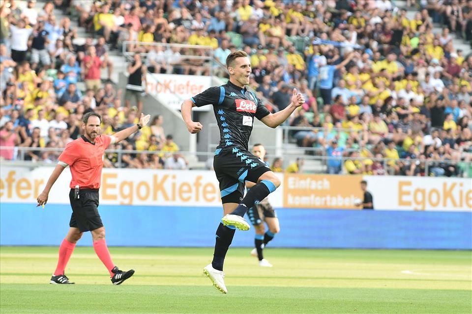 Due gol su palla recuperata: il Napoli di Ancelotti è anche questo