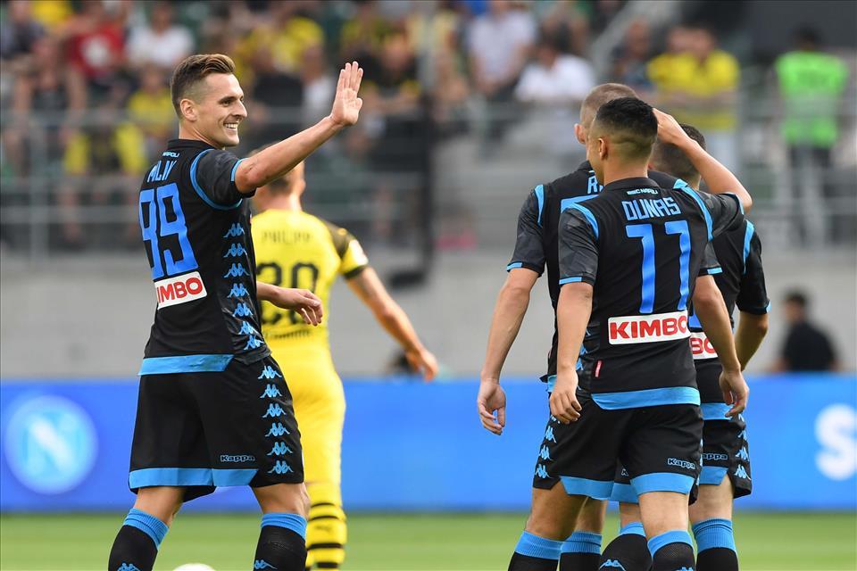 Gazzetta: Milik è il centravanti perfetto per il Napoli di Ancelotti