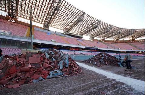 Commissario Universiadi: «Non c'è il progetto per i sediolini del San Paolo»