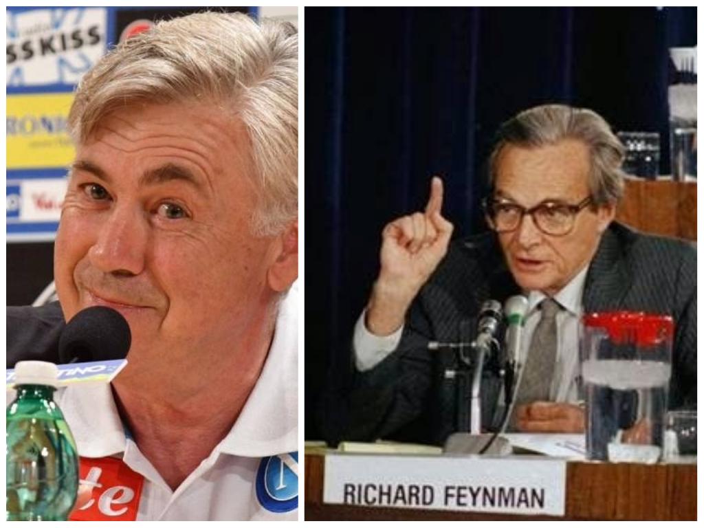 Ancelotti è come Feynman, è il positivista del calcio italiano