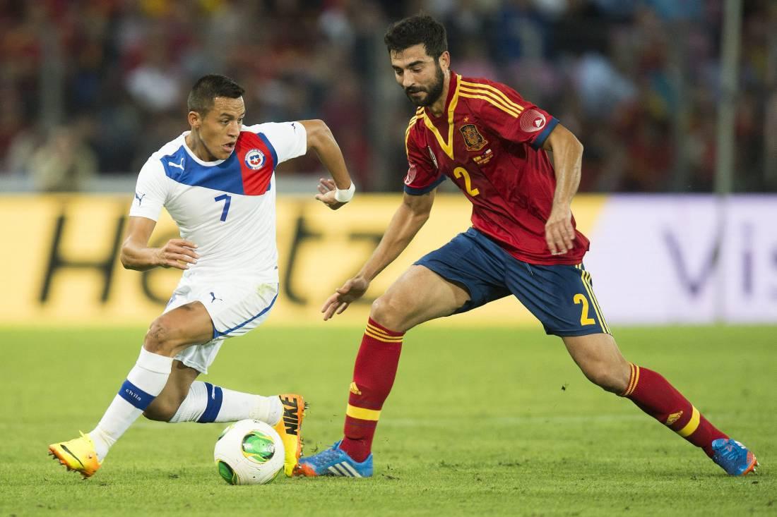 Raul Albiol torna in nazionale dopo tre anni e mezzo