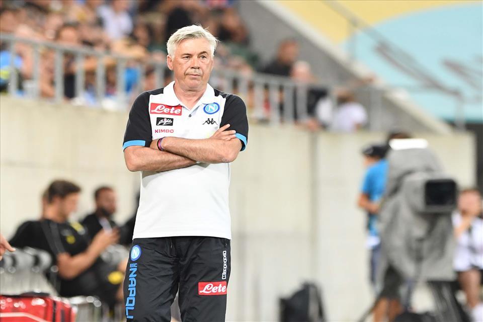 Ancelotti: «Questo Napoli ha qualità, checché se ne dica»