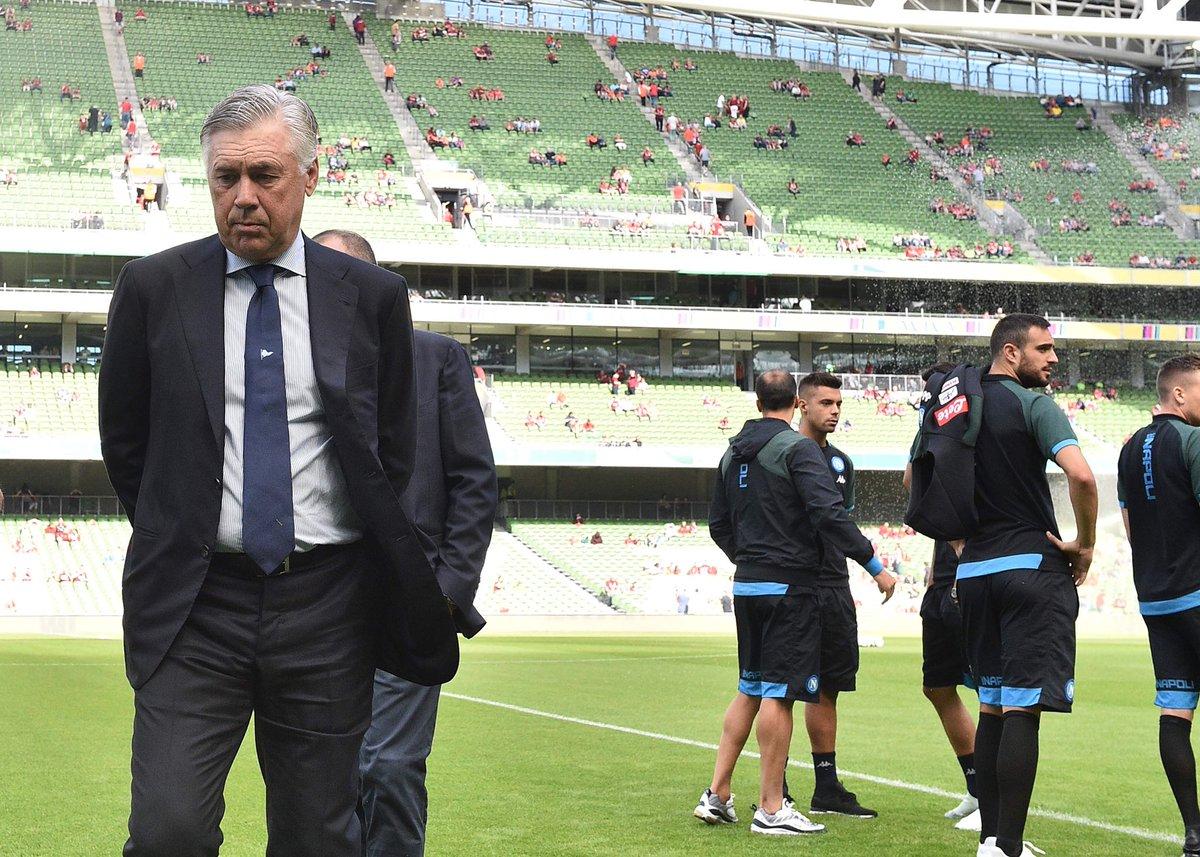 Ancelotti: «In questo momento, ci fa bene essere preoccupati»