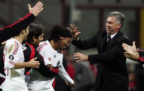 Il Milan di Kakà e Ronaldinho: l'ultima stagione di Ancelotti in Serie A