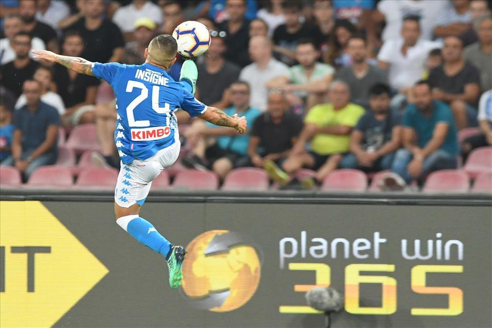 Ancelotti fa ein plein al San Paolo (cinque su cinque), Insigne fa 70 in maglia azzurra