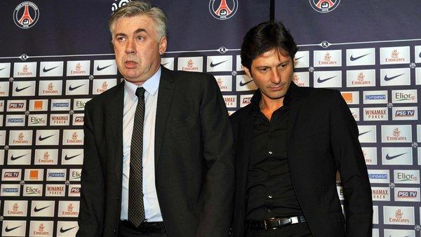 Quando Ancelotti scrisse di Leonardo che al Psg non si comportò da uomo