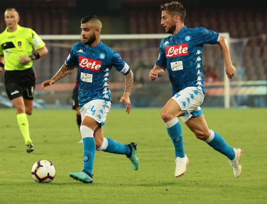Le difficoltà di Insigne e Mertens nel gioco d'attacco di Ancelotti