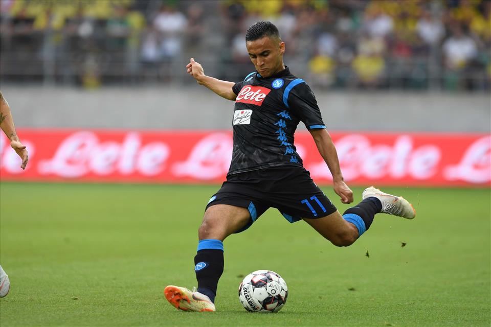 Ounas: «Ho già la metà dei minuti giocati lo scorso anno. Ancelotti mi disse che avrei avuto più spazio»