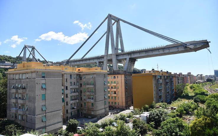 Un documento dell'anno scorso sul degrado dei piloni 9 e 10 del Ponte Morandi