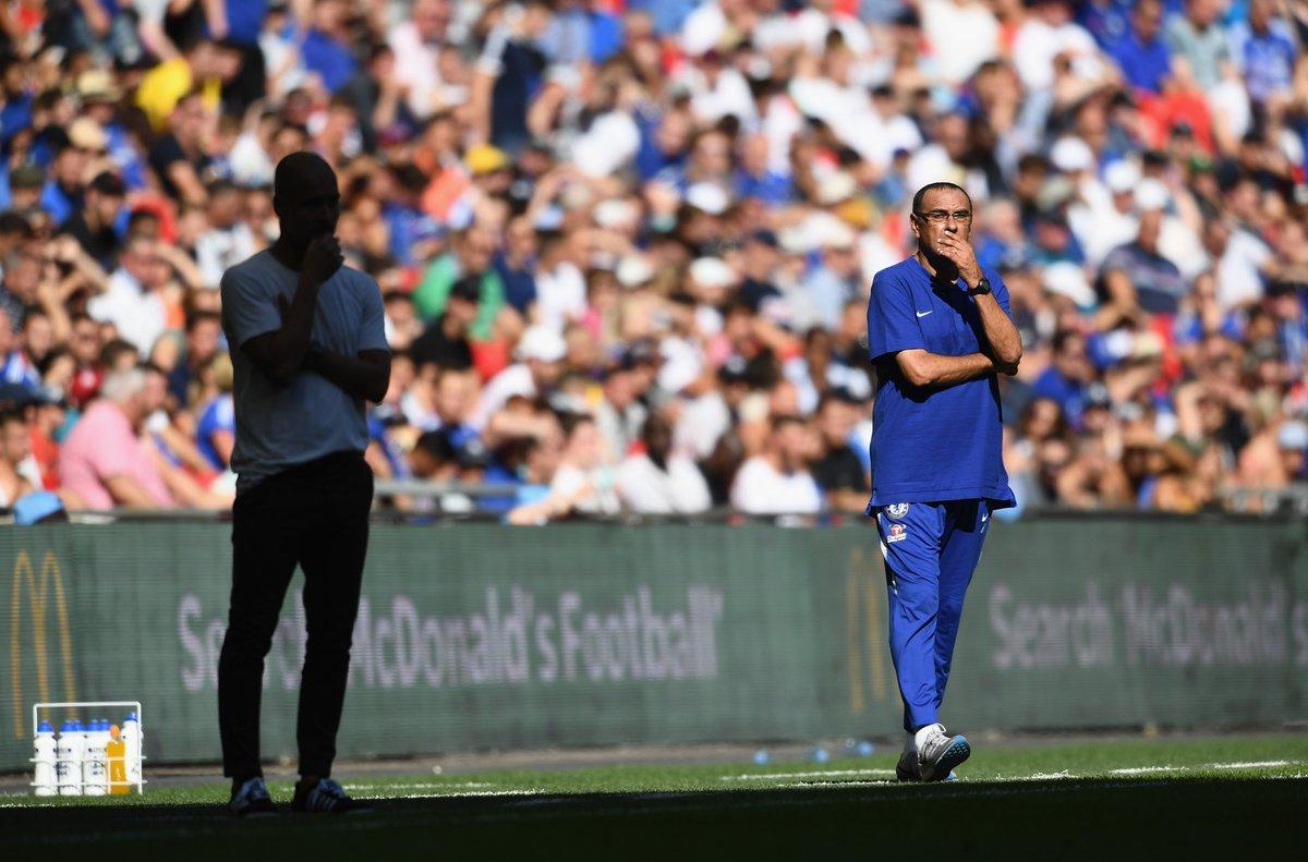 Sarri: «Sono al Chelsea da appena tre settimane e non ho mai visto sei calciatori»