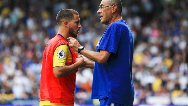 Chelsea-Wolverhampton 1-1, Hazard salva Sarri al 92esimo