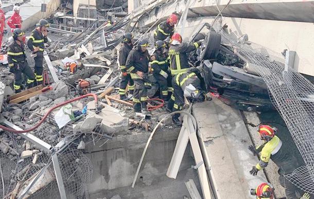 Ponte Morandi: per il Mit le 43 vittime erano cavie di Autostrade a loro insaputa
