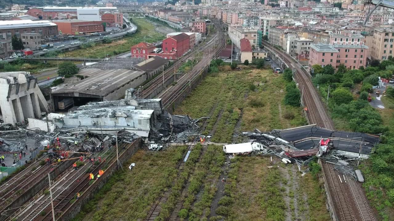 Ponte Morandi: davanti ai giudici fa scena muta anche il direttore del tronco ligure di Autostrade