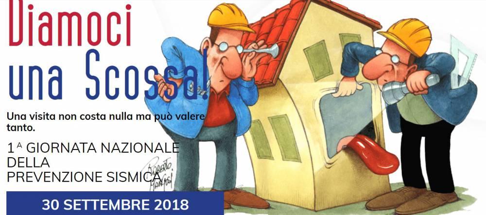 Diamoci una Scossa! A Napoli 15 postazioni informative gratuite nella giornata nazionale di prevenzione sismica