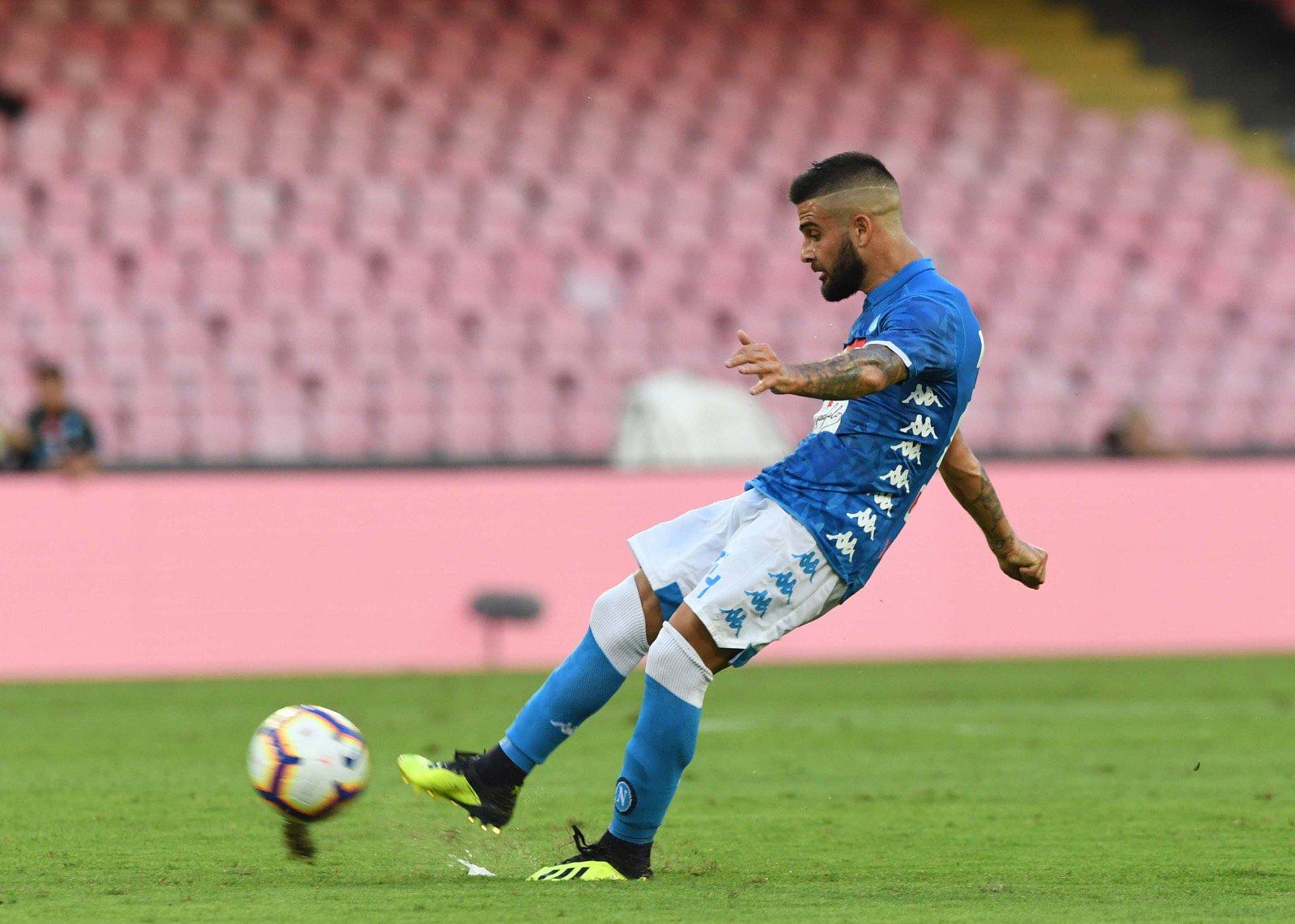 Napoli-Fiorentina 1-0, Insigne vale la terza vittoria per Ancelotti