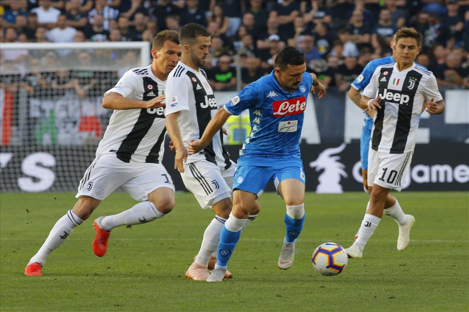 Il Napoli esce ridimensionato rispetto alla Juve, ma non a sé stesso