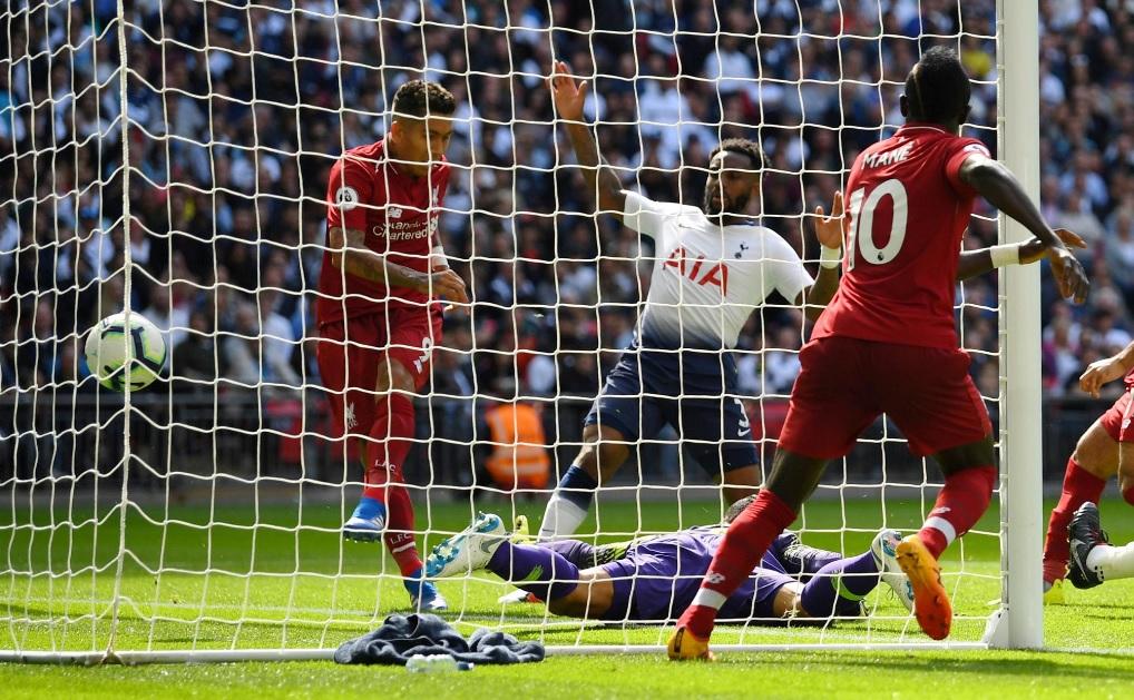 Tottenham-Liverpool 1-2, Klopp a punteggio pieno con Wijnaldum e Firmino