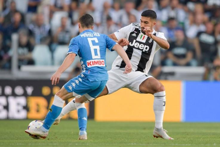 Juventus-Napoli 3-1, doppio Mandzukic e Bonucci dopo l'illusione di Mertens