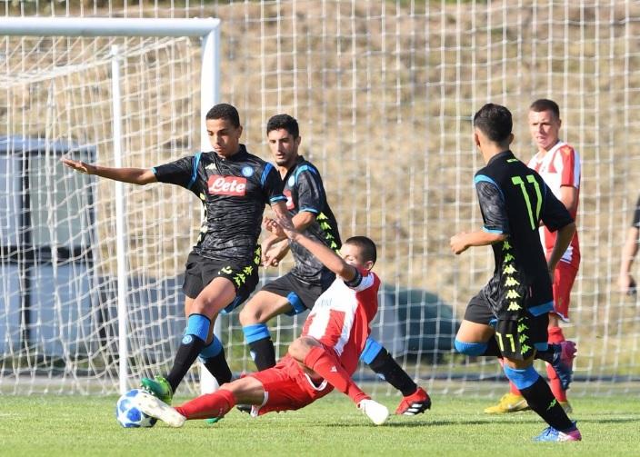 Youth League, Stella Rossa-Napoli 1-1: pareggio all'esordio per i ragazzi di Baronio