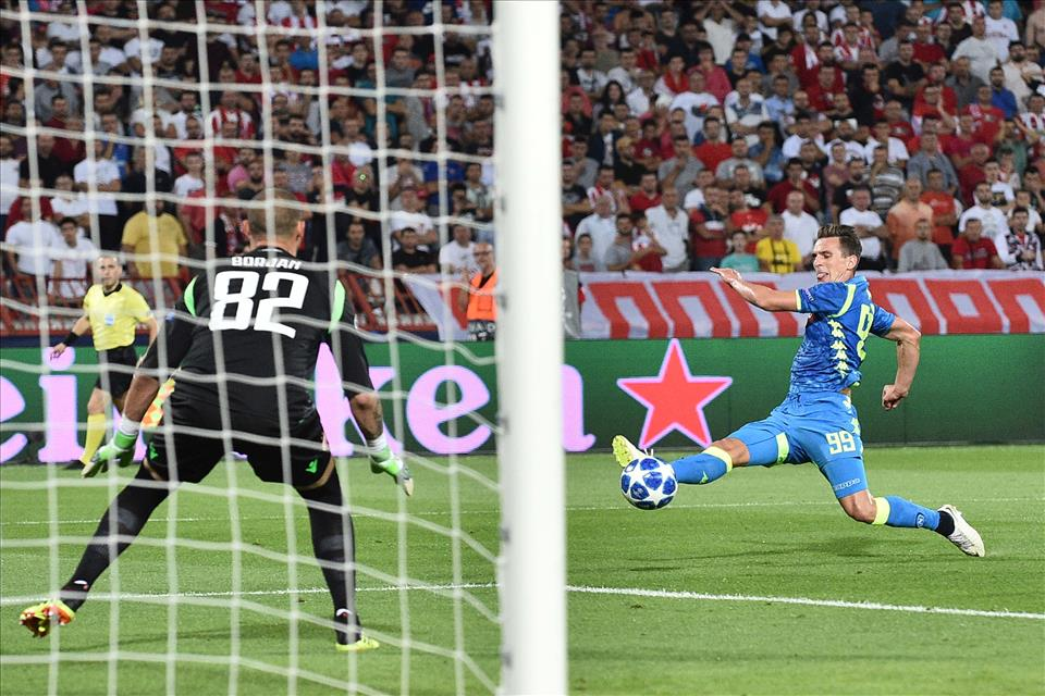 Milik e il peso di aver segnato un solo gol. Anche se lavora tanto per il Napoli
