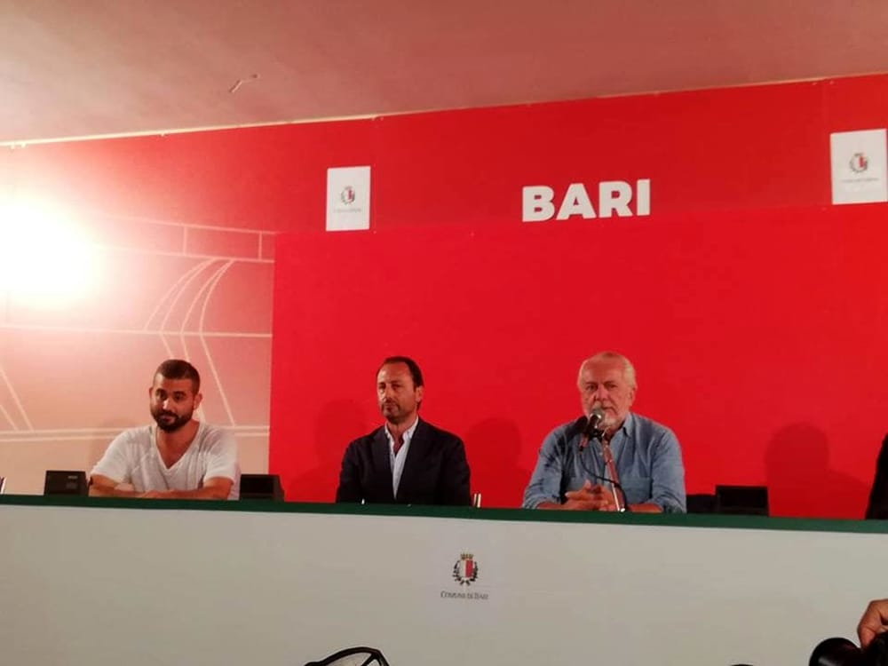 Gazzetta del Mezzogiorno: contatti De Laurentiis-Dazn per la copertura delle partite del Bari