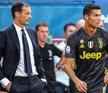 C'entra Cristiano Ronaldo nell'addio della Juventus ad Alleg