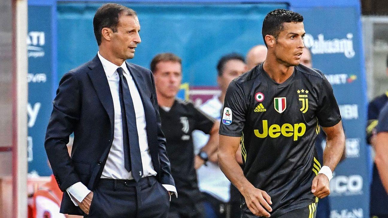 Come gioca la Juventus con Ronaldo