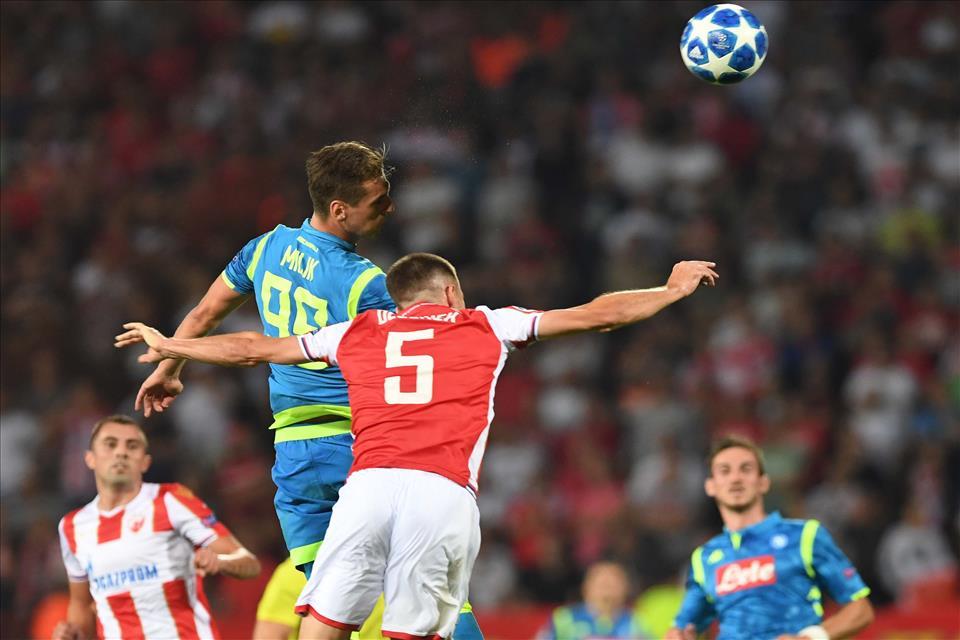 Stella Rossa-Napoli 0-0, pagelle / La traversa di Insigne è la foto della serata