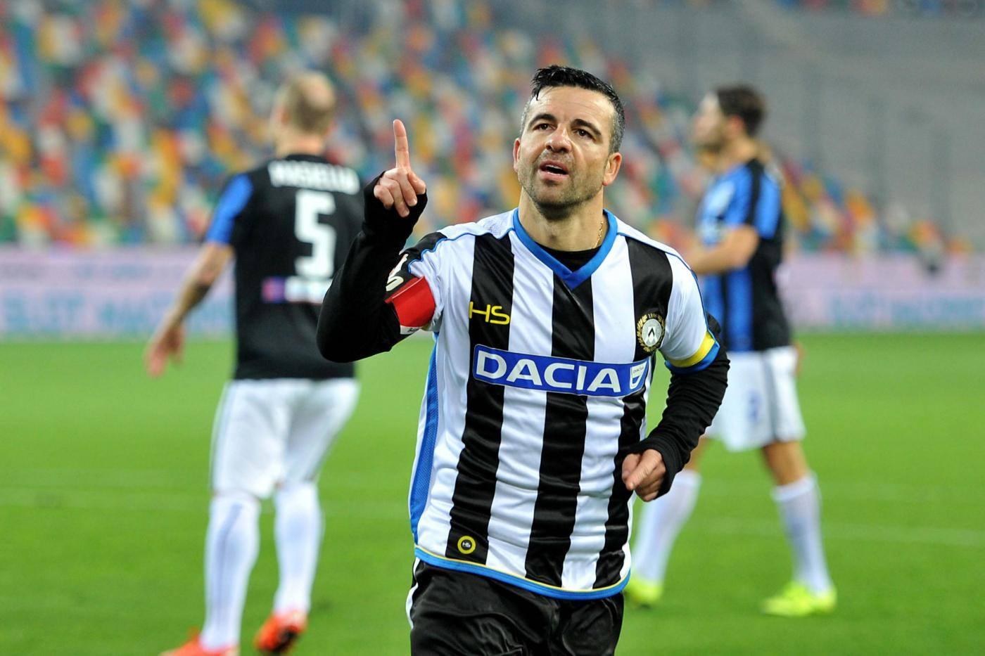 """Di Natale: """"La Juve è favorita, ma Inter e Napoli hanno fatto un buon mercato"""""""