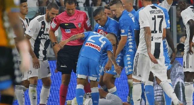 Banti non ha deciso Juve-Napoli, ma resta l'eterno doppiopesismo