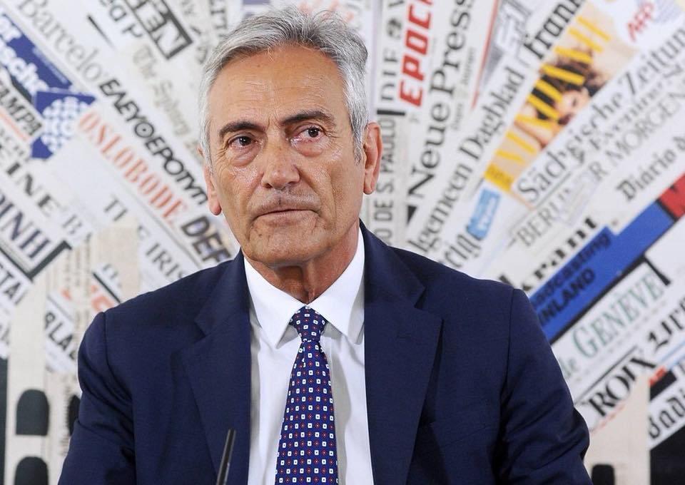 Gravina: «Sogno i playoff in Serie A. Scudetti Juve? Serve rispetto per le istituzioni»