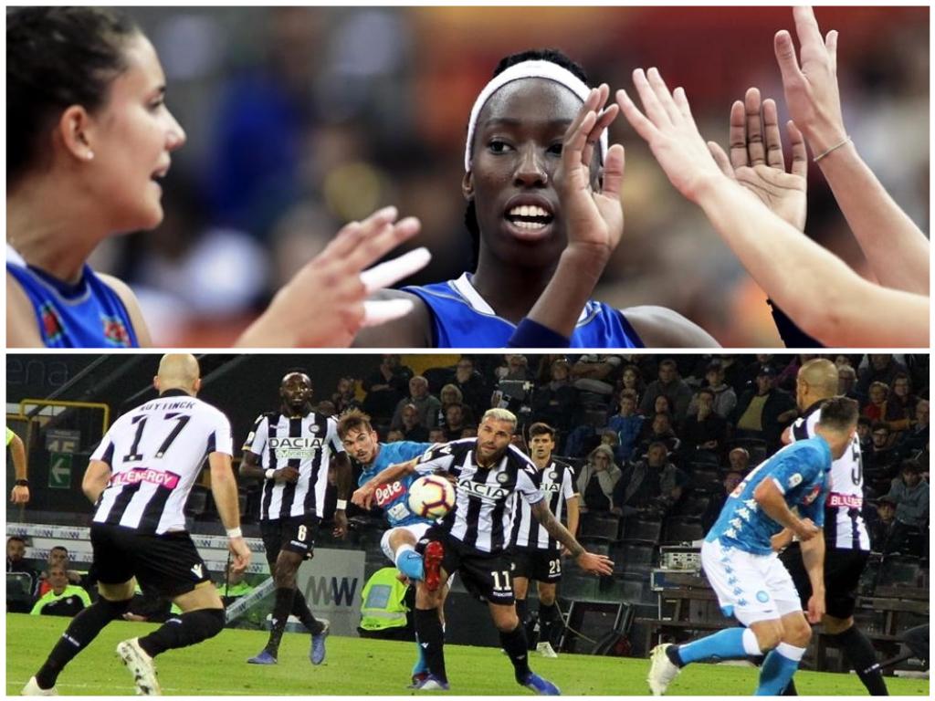 Cose belle di cui innamorarsi: il gol del Fenicottero Andaluso, le Sorelle d'Italia del volley