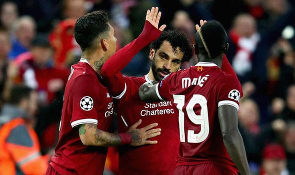 Liverpool batte 4-0 la Stella Rossa: Salah, Firmino e Mané portano Klopp al primo posto