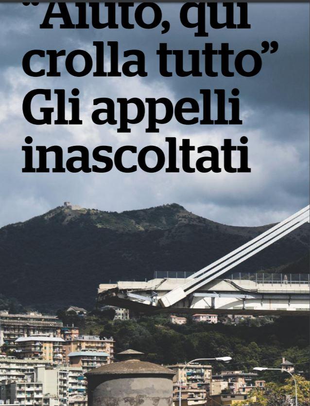 Ponte Morandi: 100mila chilometri in Italia senza manutenzione stradale