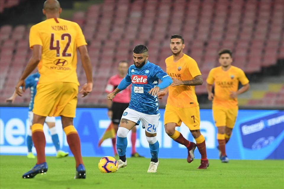 Lo spettacolo incerto di Napoli-Roma