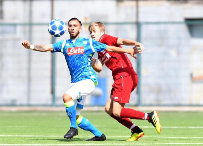 Yourh League, Napoli-Liverpool 1-1: Gaetano trova il pareggio al 94esimo