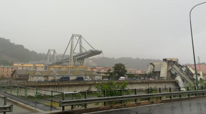 """Ponte Morandi, il camionista inghiottito dal crollo: """"Sono rinato il 14 agosto alle 11.36"""""""