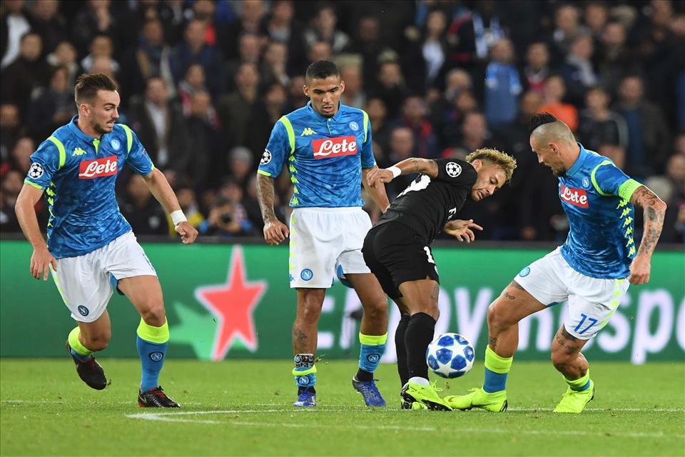 Napoli-Psg, perché va bene anche un pareggio (0-0 o 1-1)