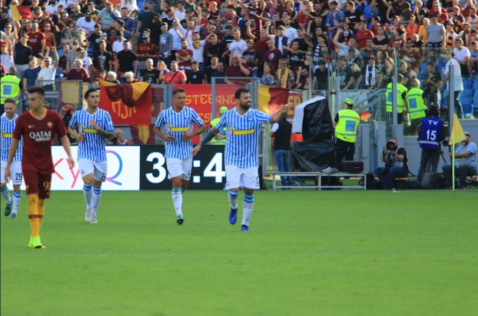 Roma, clamoroso tonfo: la Spal vince per 2-0 all'Olimpico