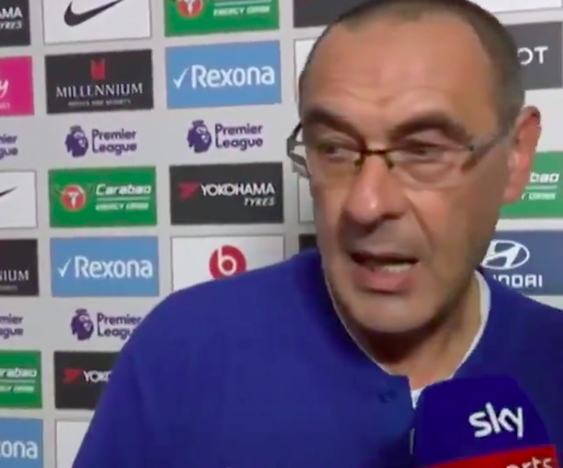 """Gazzetta: """"I tifosi del Chelsea insultano Sarri ma lui ha vinto più di Guardiola al primo anno"""""""